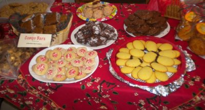 Cookie Swap at Zumba 2012